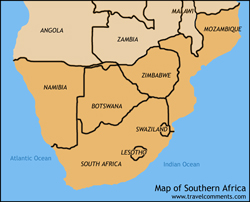 Online Travel Guide South Africa Guide Tour Booking - What is the smallest country in africa